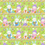Novelty Bunny Stripe