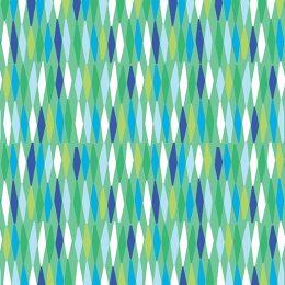 Picket Fences - Green-Aqua