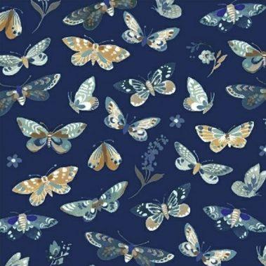 Butterflies - Dark Blue