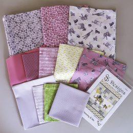 Baby Safari Cot Kit - Pink