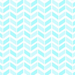 Chevron - Light Aqua