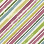Diagonal Stripe - Multi