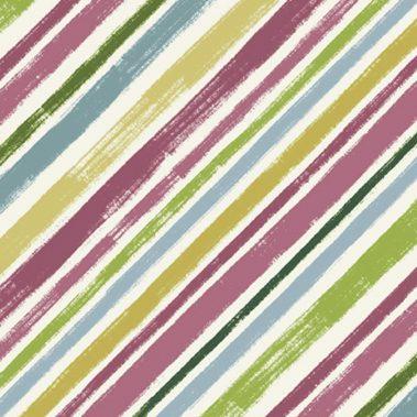 Diagonal Stripe - Multi