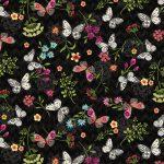 Mini Butterfly Toss - Black