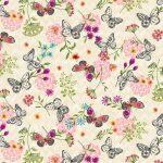 Mini Butterfly Toss - Cream