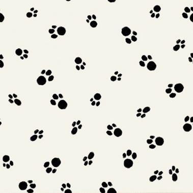 Pawprints - Black