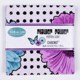 Flower Power Charm Pack - Blue_Purple