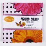 Flower Power Charm Pack - Pink_Orange