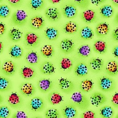 Ladybugs - Green