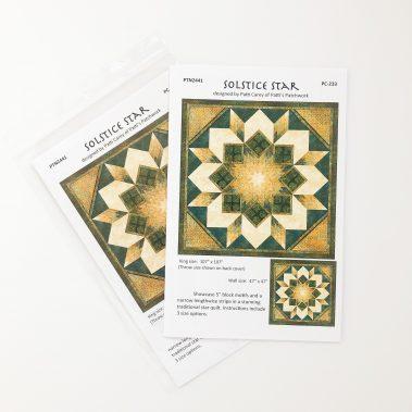Solstice Star Quilt Pattern