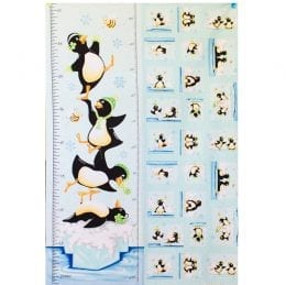 Qwyn the Penguin Height Chart