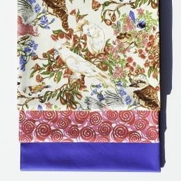 Birds of a Feather - Blue 3 Yard Quilt Kit