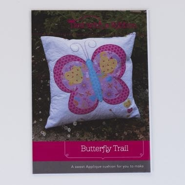Butterfly Trail Cushion Pattern