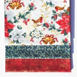 Christmas Bells 3 Yard Quilt Kit