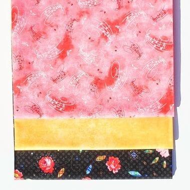 Flower Song - Sunshine 3 Yard Quilt Kit