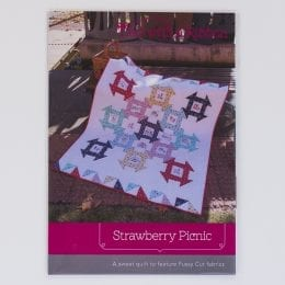 Strawberry Picnic Quilt Pattern